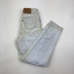 Vintage LEVI'S 512 High Waisted Wedgie Jeans